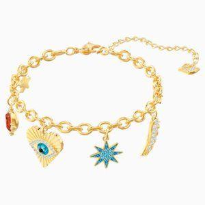 Swarovski Lucky Goddess Charms Bracelet